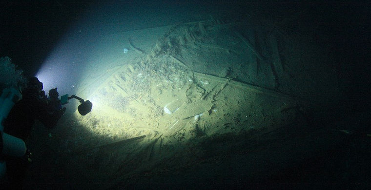 В Крыму нашли римский корабль II века