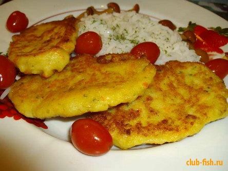 Здоровое питание. Рыбные котлеты