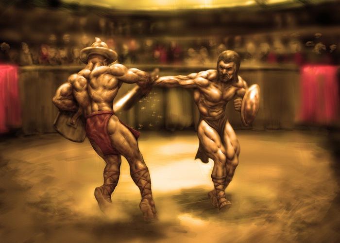 Самые странные виды спорта в древности