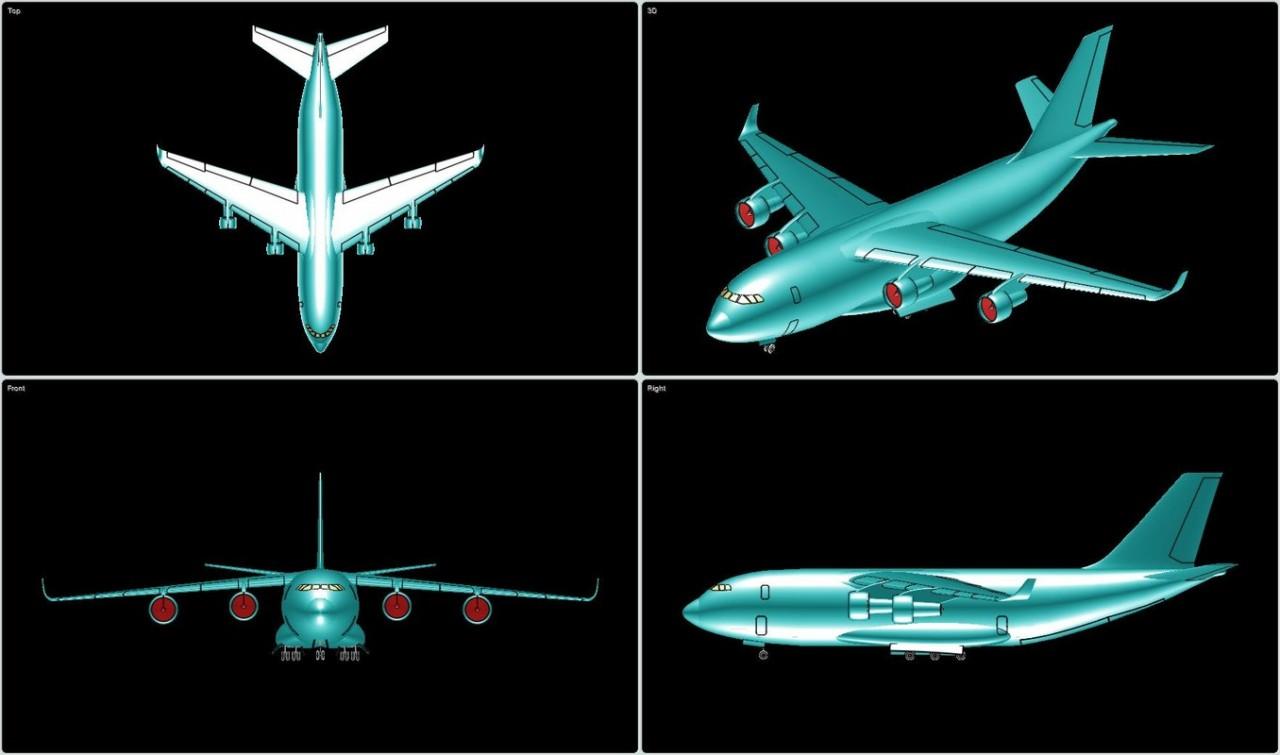 """ПАО """"Ил"""" приступил к созданию сверхтяжёлого самолёта на замену Ан-124"""