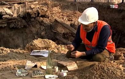 В районе Гончарной набережной нашли остатки ночлежки XIX века