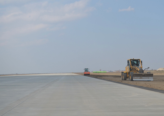 Новый полевой аэродром на Курильских островах