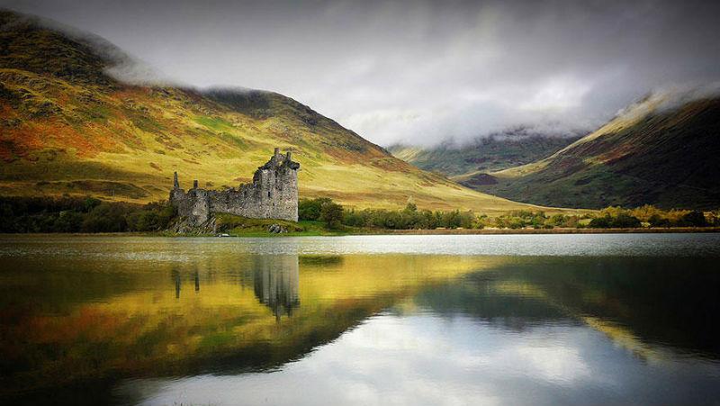 Сказочная Шотландия на фантастически красивых фото