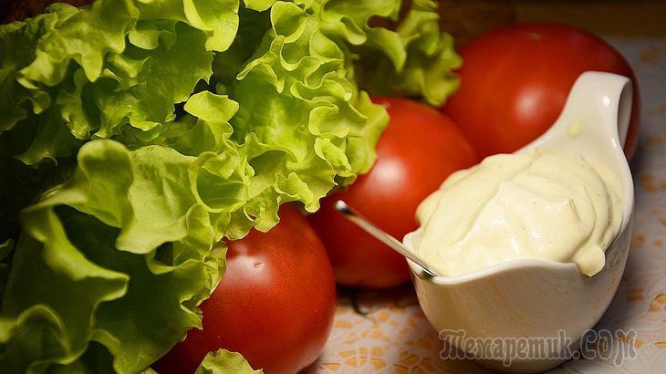 Соус «А-ля Майонез» Заправка для салатов вместо Майонеза. СОУС ДЛЯ САЛАТОВ 👍