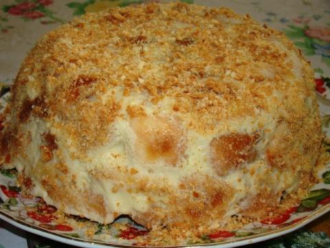 Торт Аля -Наполеон или Ленив…