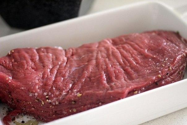 Изумительное домашнее вяленое мясо. Теперь чемоданы из Италии стали легче!