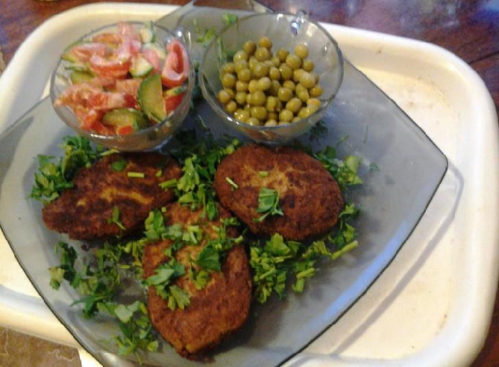 Быстрый ужин: котлетки из сайры