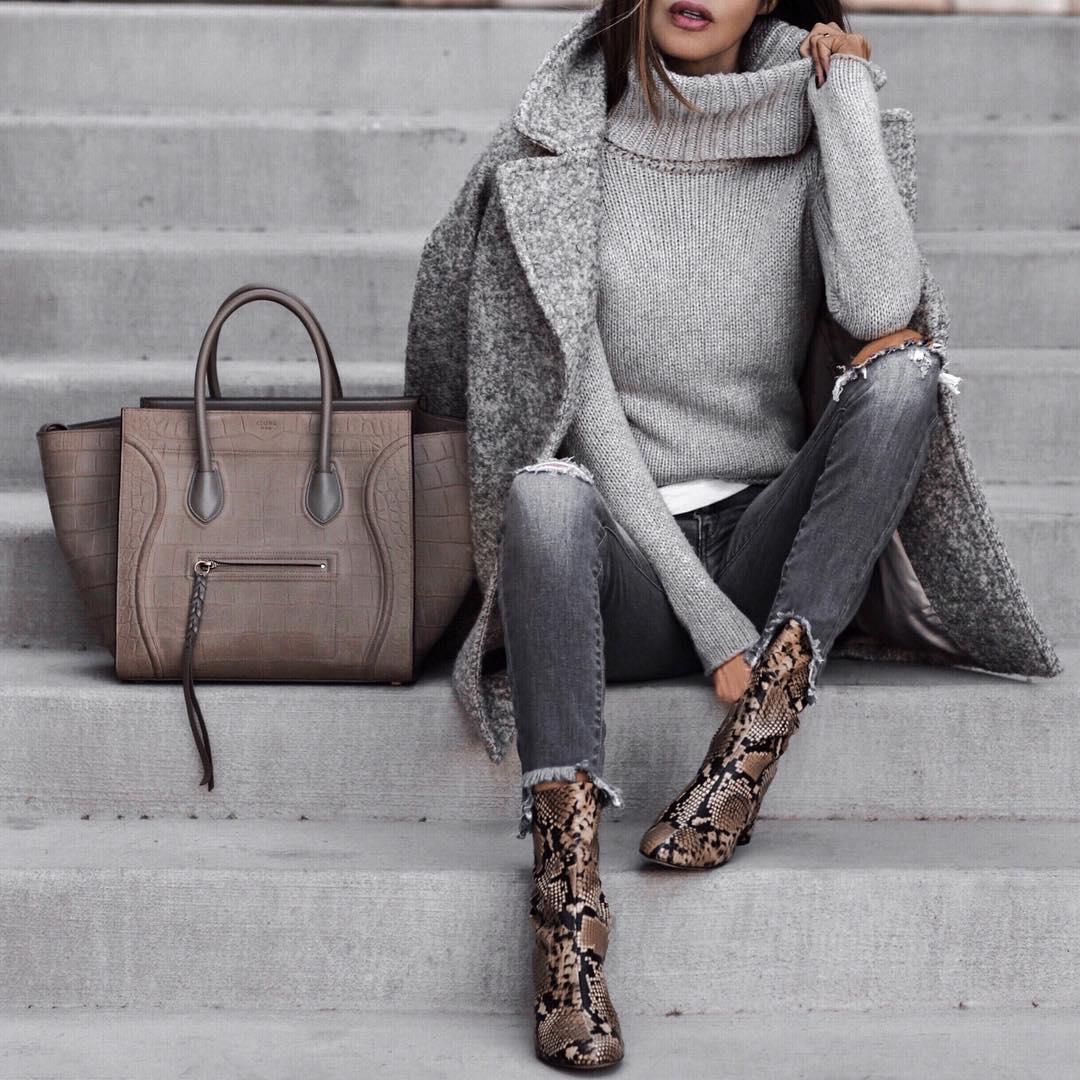 Модный  серый: правильные со…