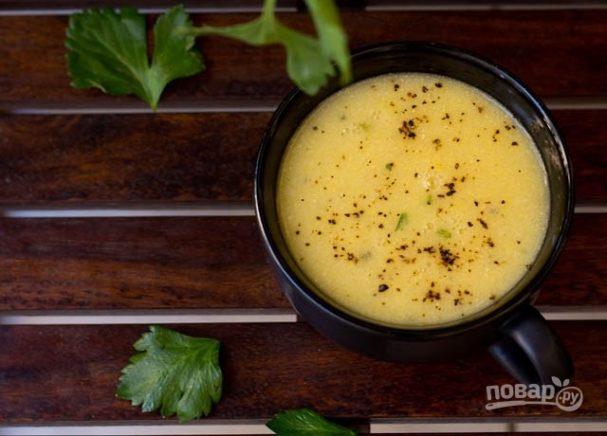 День первого блюда. Суп из кукурузы