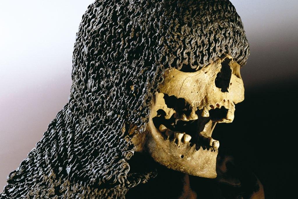 Битва при Висбю - экспонаты с раскопок с места сражения