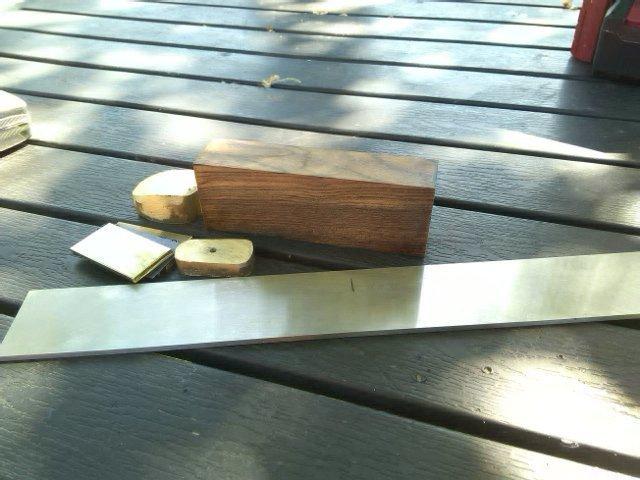 Делаем нож из пластины стали