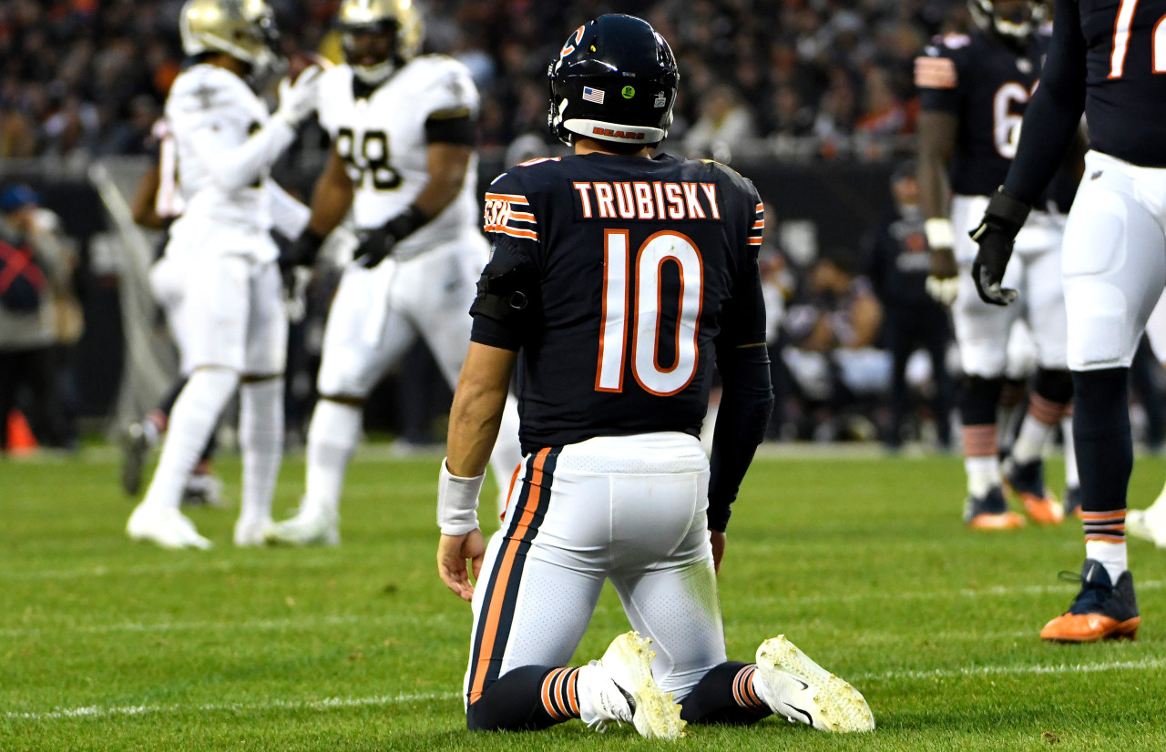 Adult Film Site Offers Mitchell Trubisky Free VIP Subscriptions For The Team's Practice Facility TVs