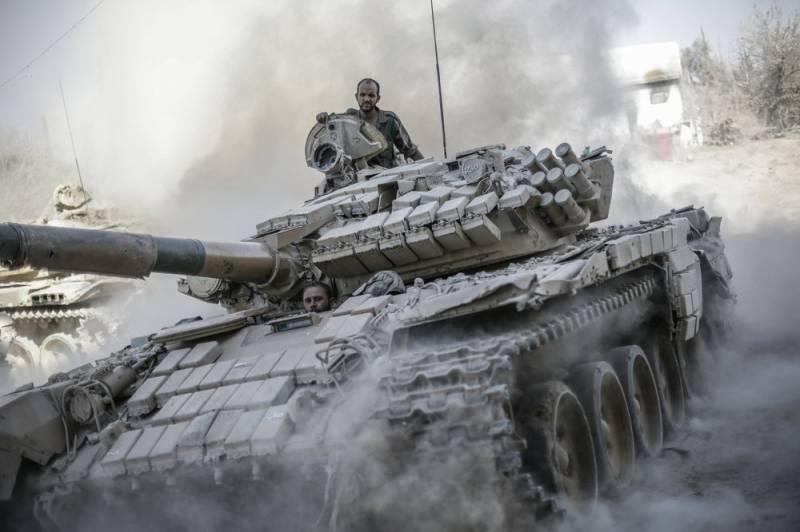 Уральская броня в сирийском …