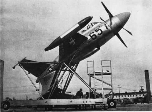 Экспериментальный летательный аппарат Lockheed XFV-1 (США)
