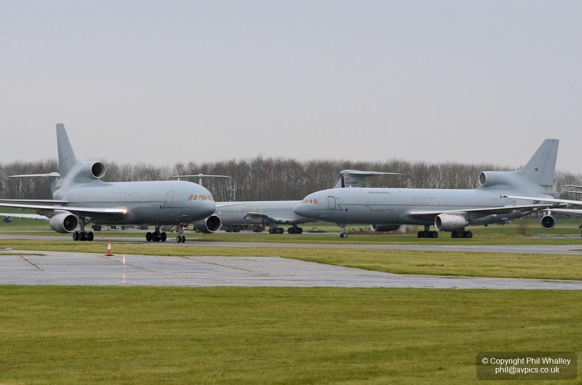 Частная компания покупает старые британские самолеты-заправщики для использования в США