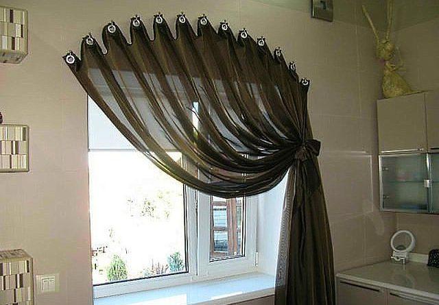 Топ 10 креативных способов как повесить шторы без карниза