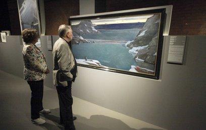 В Москве открылась выставка картин Георгия Нисского из более чем 20 музеев