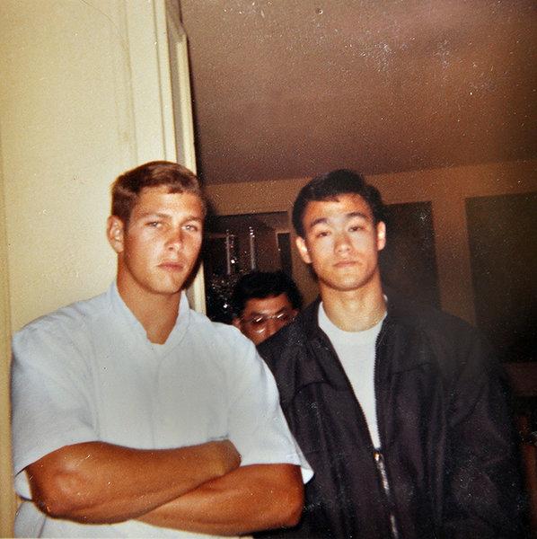 Брюс Ли в молодости