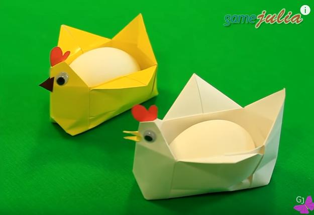 МАСТЕРИЛКА. Оригами-подставк…