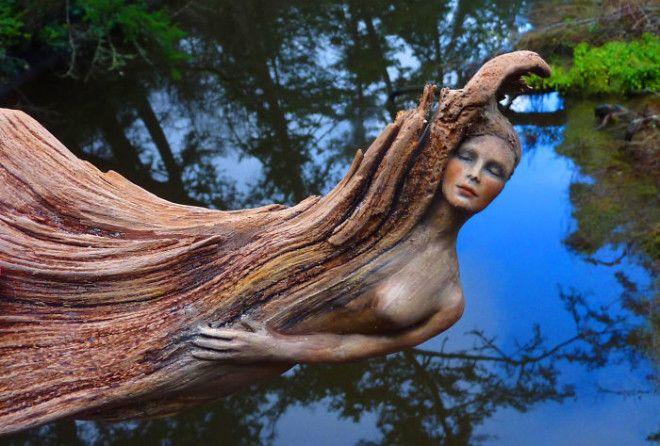 Потрясающие скульптуры из коряг, глядя на которые невольно веришь в чудеса