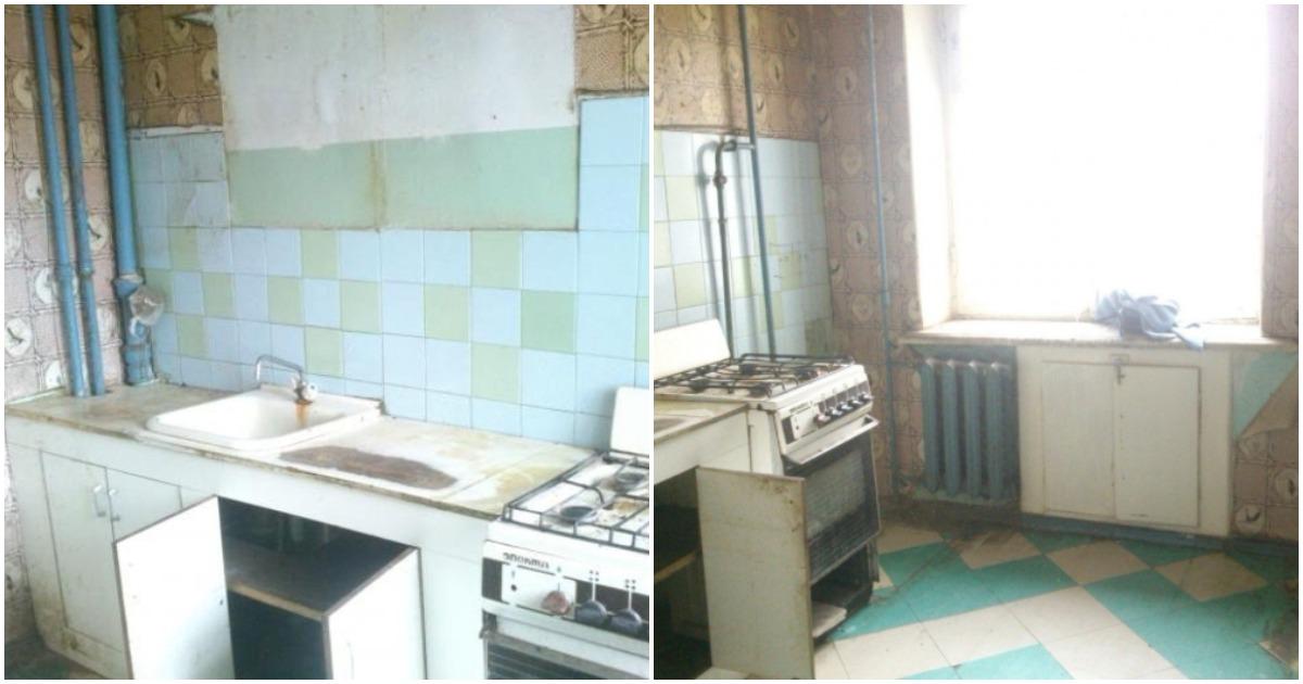 Семья преобразила кухню в старой квартире до неузнаваемости