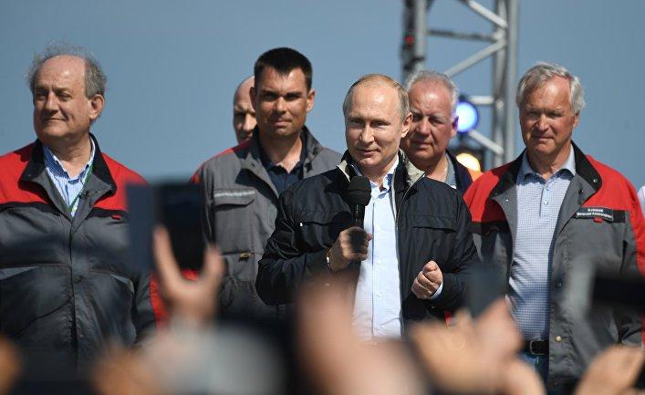 Washington Examiner, США:  Украине нужно взорвать путинский мост в Крым