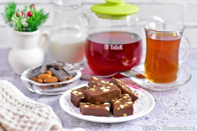 Рецепт шоколадной помадки к чаю