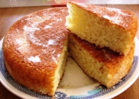 Торт с манкой
