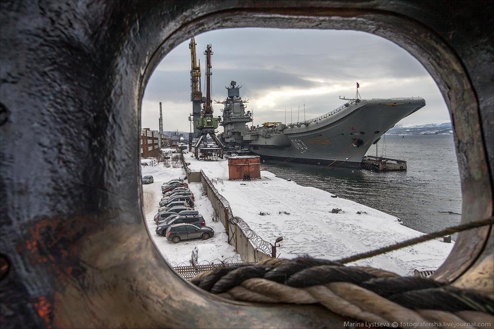 Ремонт тяжелого авианесущего крейсера «Адмирал Кузнецов» может обойтись в 40 млрд рублей