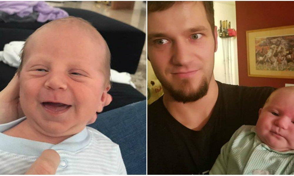 Когда родители ждали ребенка, а получили старичка — фото