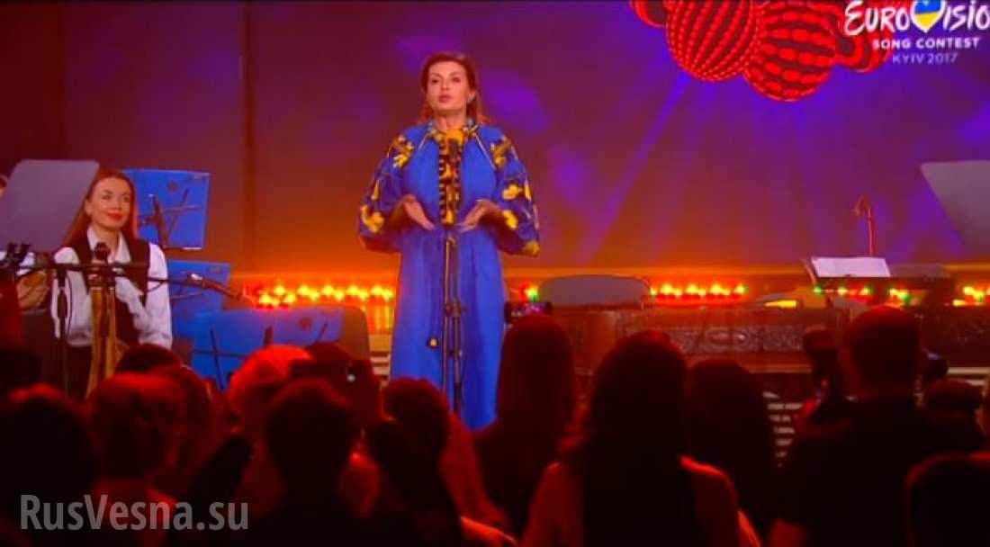 «Да она бухая!» — жена Порошенко опозорилась, открывая «Евровидение»