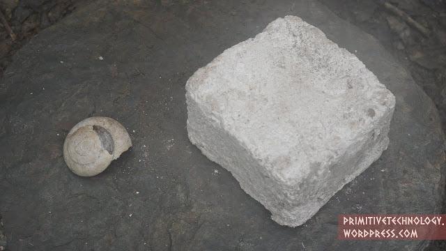 Водостойкий прочный блок из панциря улитки