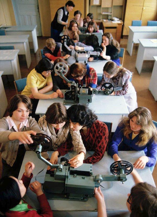 Кружок юных кинолюбителей СССР, детство, кружки