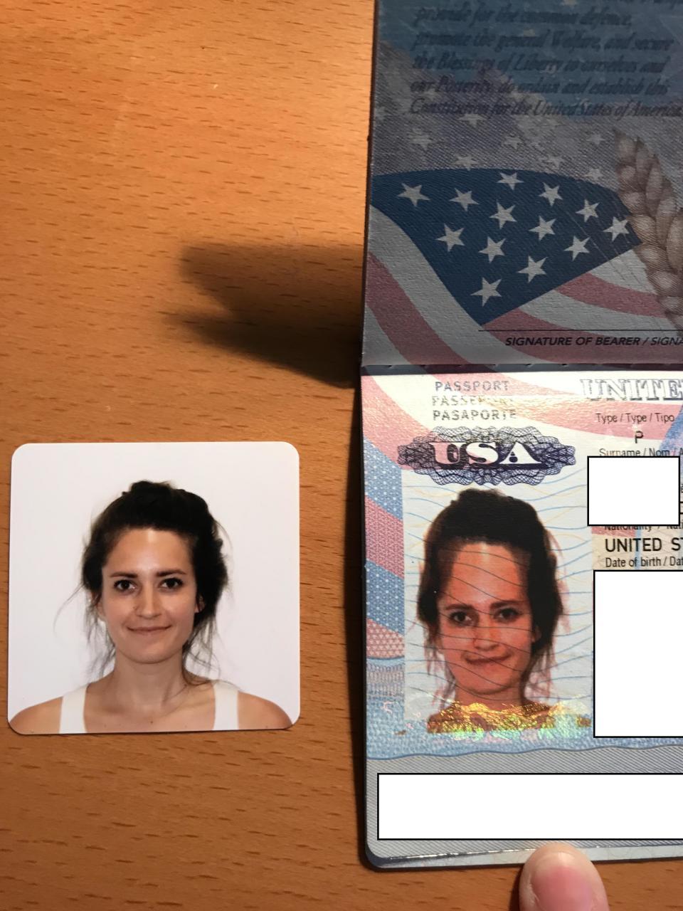 Девушка сделала самую отвратительную фотографию на паспорт! Ох как же я ей не завидую…