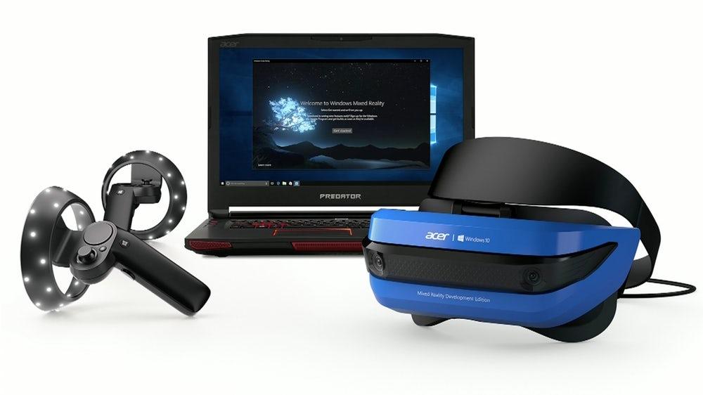 Microsoft представила две модели гарнитур смешанной реальности