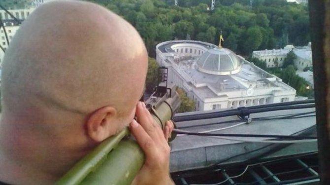 Украинский депутат: В следующий раз Порошенко грохнут из гранатомёта