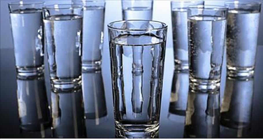 Это то, что 8 стаканов воды …