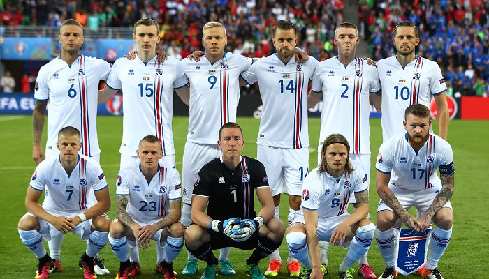 Respect Исландия!