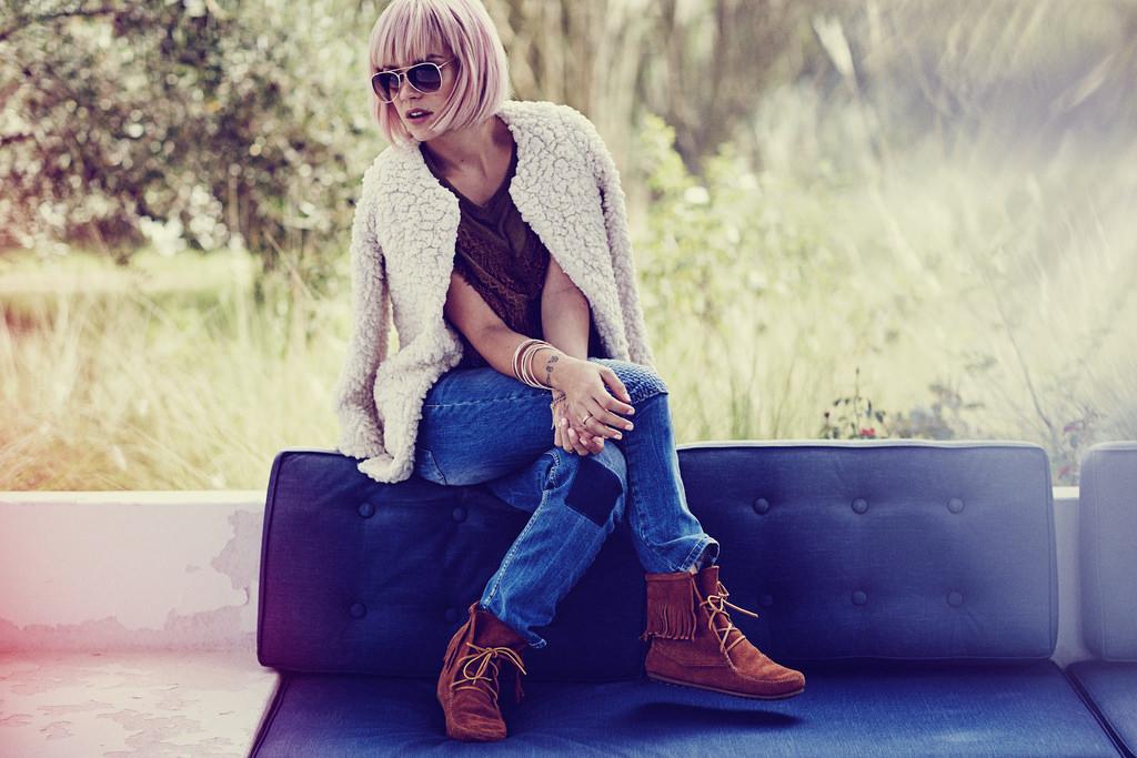 Лили Аллен — Фотосессия для «Vero Moda» 2016