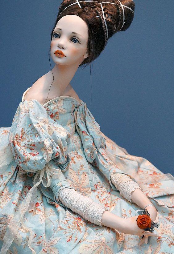Авторские куколки из полимерной глины для вдохновения 9