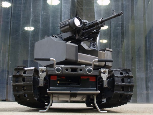 Роботы против дронов: Войну …