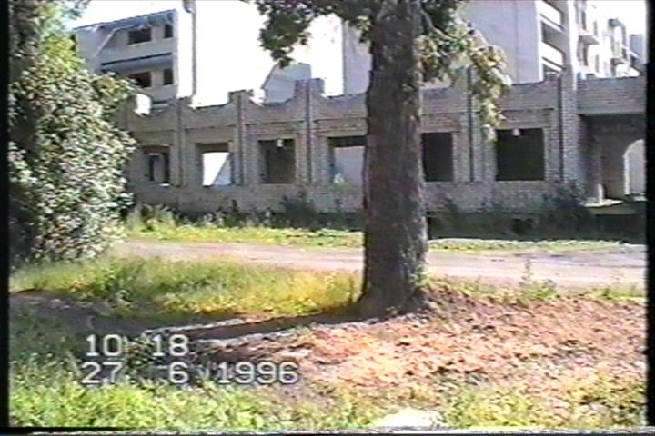 Прачечную так и не достроили.1996г.