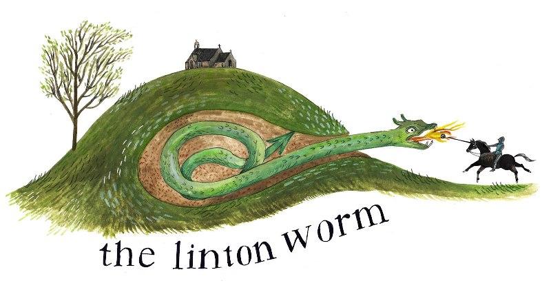 Огромный червь-монстр из Линтона