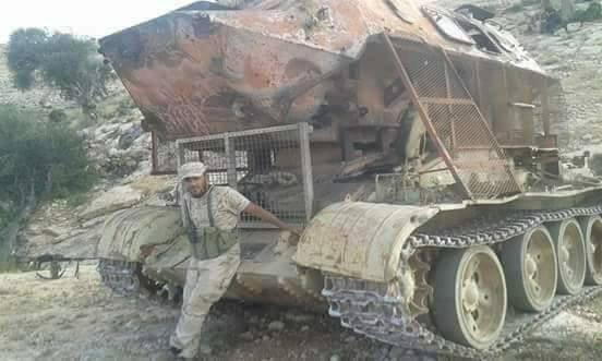 Ливийский гибрид Т-55 и БТР-60ПБ