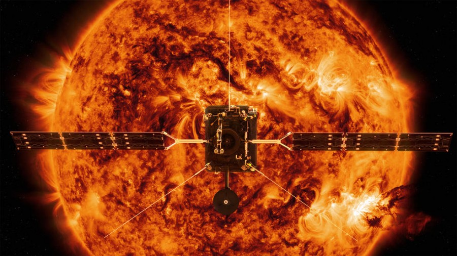 Solar Orbiter в магнитной камере
