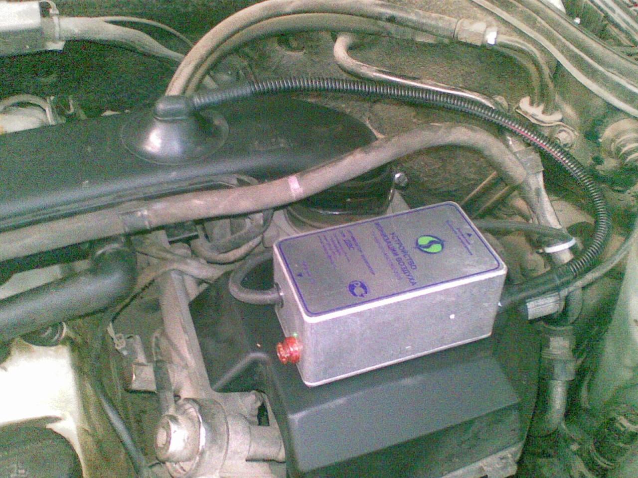 Ионизатор на авто для экономия топлива