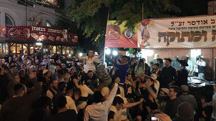 Как хасиды празднуют в Умани еврейский новый год