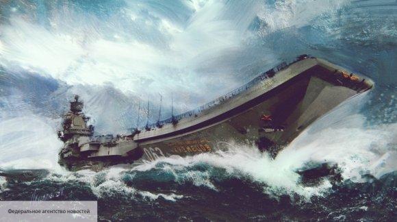Модернизация «Кузнецова»: авианесущий крейсер России готовится встать в док