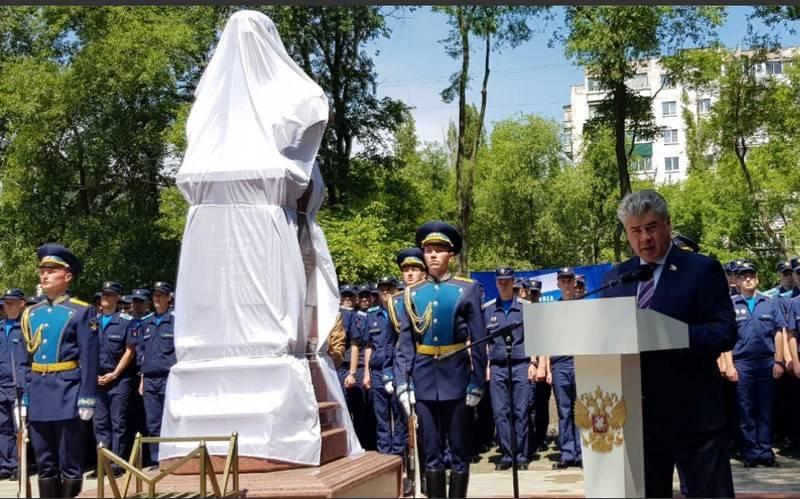 В Воронеже открыли памятник …