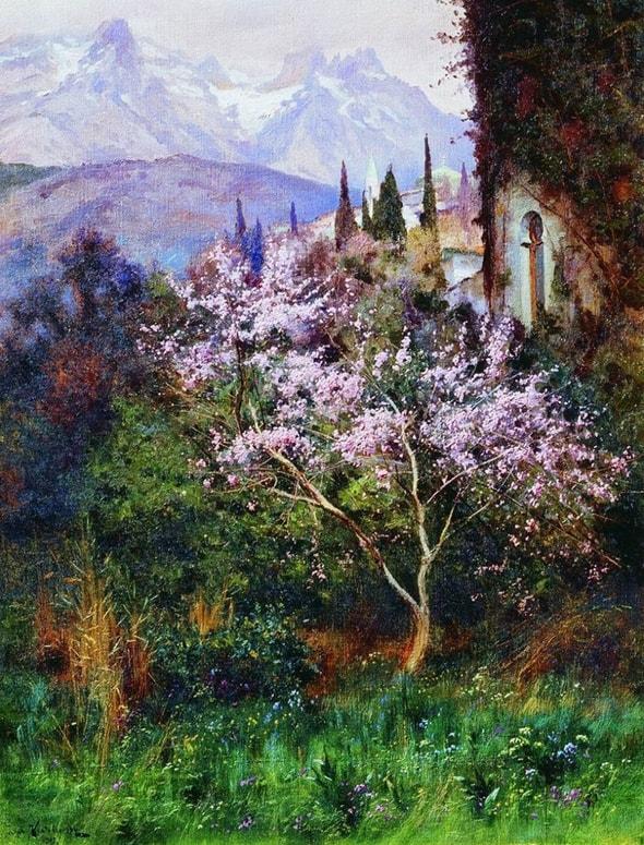 Божественно прекрасная природа — крымские пейзажи кисти Иосифа Крачковского